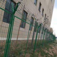 停车区围栏 公路绿化隔离网 桃型柱护栏