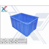 厂家直销 32#号加厚包装食品规格塑料周转箱PP