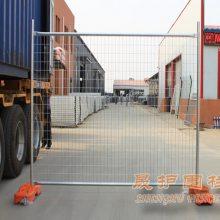 商业应用栅栏网 加拿大临时施工围墙网 澳洲标准移动护栏厂家