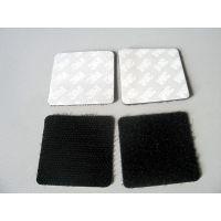 生产加工各种背胶魔术贴 自粘粘扣带 加粘耐高温魔术贴模切冲形厂家
