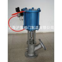 上海沪宣 柱塞式气动放料阀 HG05-81DN65 不锈钢放料阀