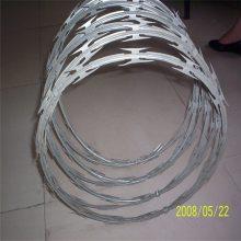 喷塑刀片刺网 不锈钢刀片刺网 刺丝规格