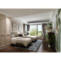 棕榈泉悦江国际143户型设计方案|悦江国际装修效果图