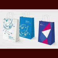 深圳供应银行手提袋设计印刷,定制礼品手提袋,订做包装手提购物袋印刷