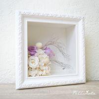 定制永生花相框礼盒 玫瑰保鲜花框 欧式 加厚立体相框画框 植物框