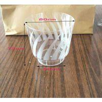 一次性水晶航空杯硬塑加厚100只家用一次性杯子茶水杯喝塑料杯