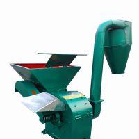 双沙克龙除尘的饲料粉碎机 可自动进料型粉碎机