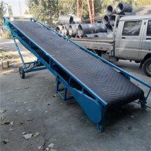 生活垃圾输送机 动力滚筒运输机 袋装化肥皮带线