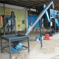 浙江不锈钢上料机 3米长配套圆管提升机 倾斜式灌包螺旋提升机