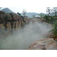西安景观造雾施工 人造雾厂家 凯普威园林景点喷雾工程