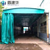 吴中区单边立柱遮阳雨蓬布定做_ 户外大型电动伸缩帐篷厂家设计