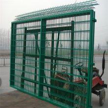 院子围墙护栏 围墙铁护栏 体育场隔离网