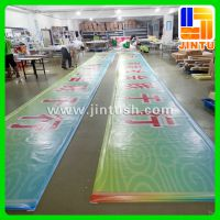 厂家供应 UV喷绘写真刀刮布 UV软膜广告户外写真喷绘制作 网格布喷绘