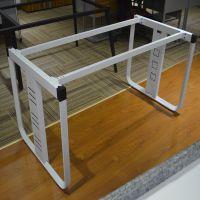 蓝精华厂家直销办公五金钢架三角管钢架爆款定制批发办公桌架桌腿员工桌钢架