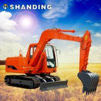 山鼎小型履带挖掘机液压系统挖掘机