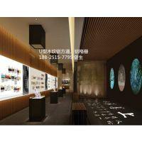 币安BINANCE官网 木纹铝方通天花定做厂家,广东U型木纹铝格栅吊顶生产直销