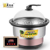 海鲜蒸汽锅 蒸汽火锅 商用设备桑拿锅多功能家用上蒸下煮石锅鱼