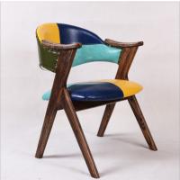 倍斯特现代中式实木椅主题休闲奶茶店咖啡厅厂家定制