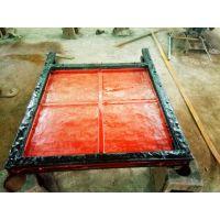 2.5*2.5米双向止水闸门价格 铸铁闸门尺寸 价格合理 支持定制