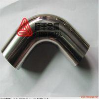 304薄壁饮用水管DN15*2.0卡压式接头、三通 直通等不锈钢配件加工