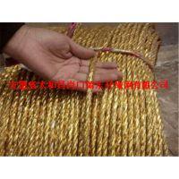 现货销售黄金绳打包绳电化铝绳安徽厂家