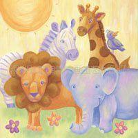 厂家直定制印刷油画、喷绘油画画芯、儿童挂画、儿童帆布油画