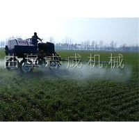 志成热销农用宽幅高杆喷洒机 四轮驱动柴油打药机