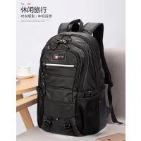 厂家直销新款男士旅行包时尚商务休闲电脑背包透气防水学生书包