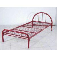 长期供应港文家具可定制金属床|单层成人铁架床|单人铁架床|1.2米简约单层钢制床