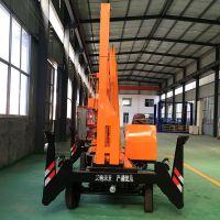 泸州14米曲臂式升降机厂家 可移动式升降平台 电动液压升降机 柴油机做动力360度旋转的