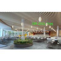 酒店外墙装饰铝方管,墙身木纹铝格栅装饰效果-AG亚游登录 | 首页
