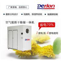 供应德隆牌腊鱼干燥机DERLON烤房 DL-3P-HG 3匹节能空气能热泵干燥项目工程方案