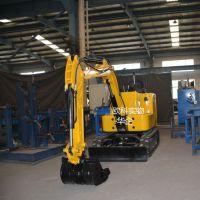 欧科土石方工程专用小型开沟农用液压沟渠挖掘机