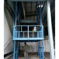 山东升降机厂家维修工厂货梯 链条式液压升降平台 电动升降台配件