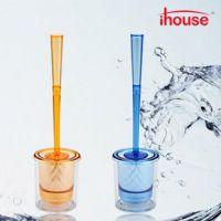 ihouse 晶莹彩色马桶刷创意软毛厕所刷 卫生间清洁用品工具