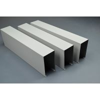 广州德普龙厂家直销室内工装吊顶U型铝方通天花 特价批发铝方通吊顶产品