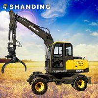 山鼎轮式挖掘机系列的SD85-9