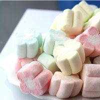 菲律宾进口零食品 Sucere牌圆柱形棉花糖 牛轧糖原料 白色250g/袋