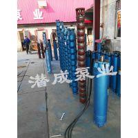 天津潜成深井潜水泵 家用农用潜水深井泵多级叶轮铸铁深井泵