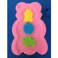沐浴海绵托/婴儿洗澡防滑海绵垫/一体成型东泰厂家