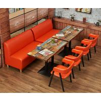 天津餐厅卡座设计 天津卡座沙发装修效果图 天津卡座沙发价格