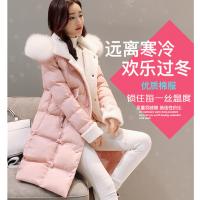 时尚女装羽绒服便宜羽绒服外套中长款外套批发 直销货源女装货源批发