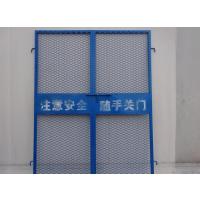 鸿宇筛网 规格齐全 室外电梯门 电梯井口防护门 价格
