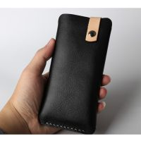 广东华为手机皮套真皮纯色口袋式新款手机保护壳厂家加工OEM定制