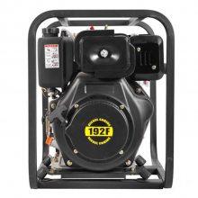 户外抽水4寸柴油水泵 高压4寸柴油消防泵
