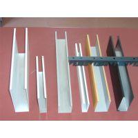 青岛U型铝方通价格 50×30×0.5mm滚涂金色铝方通吊顶线条明快飘逸,整体通透