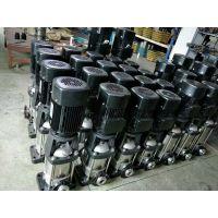 二次供水设备给水泵 65CDL(F)32-40 7.5KW 河南信阳新县众度泵业 不锈钢