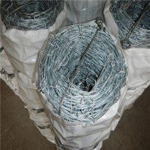 刺绳围网价格 铁丝刺绳重量 围墙防盗刺网