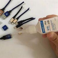厂家供应天诺918塑料粘金属瞬干胶 手机数据线粘接专用胶水