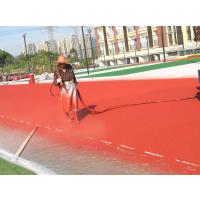 """重庆透气型塑胶跑道,广州""""蒂森""""牌DS-3299透气型塑胶跑道厚度13mm"""